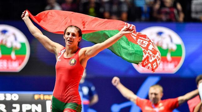 Ванэса Каладзінская прызнана лепшай спартсменкай 2017 года у барацьбе жаночай