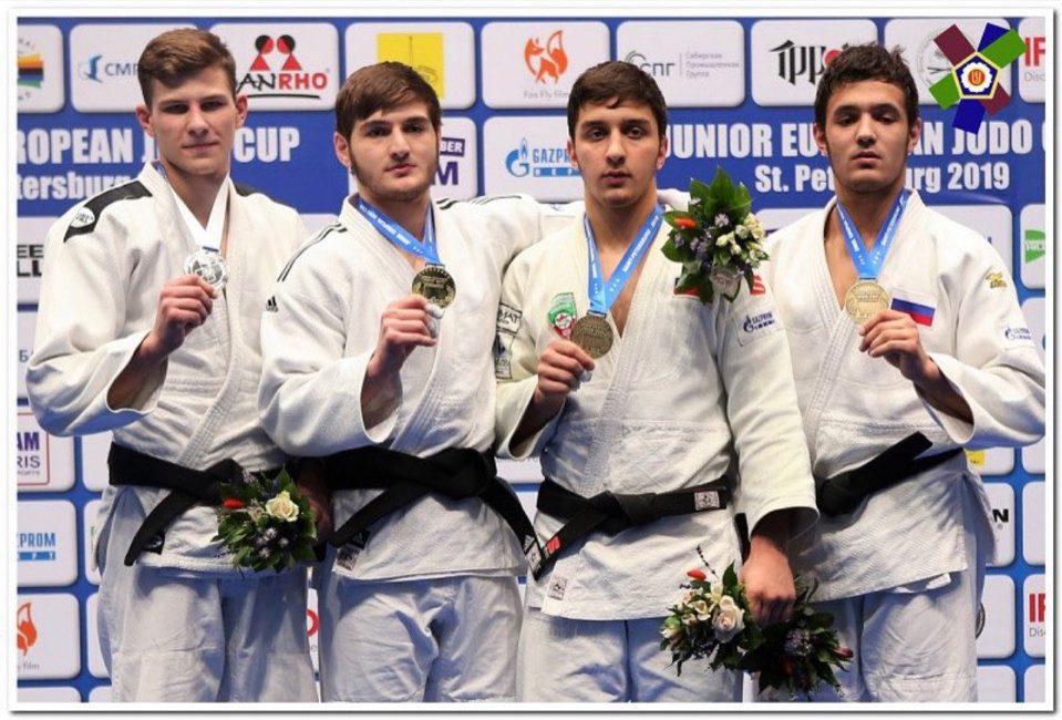 Вынікі Кубка Еўропы па дзюдо сярод юніёраў