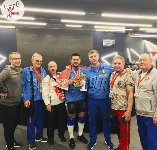 Зборная Беларусі заняла другое месца ў медальным заліку ЧЕ-2019 па цяжкай атлетыцы