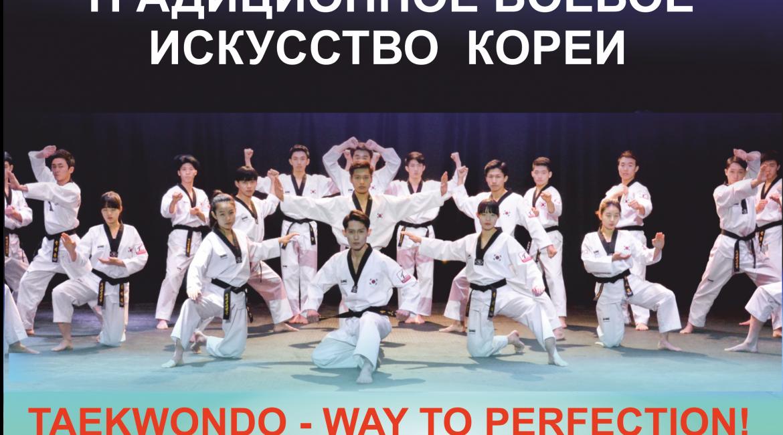 Тхэквондо-перформанс. Традиционное боевое искусство Кореи