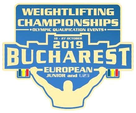 Первенство Европы по тяжёлой атлетике среди юниоров и юниорок до 20 и до 23 лет. 18 — 27 октября 2019 года. Бухарест (Румыния)
