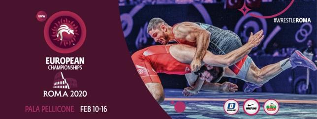 Восемь медалей на чемпионате Европы о трем видам борьбы в Риме