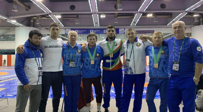 Поздравляем с завоёванными медалями на чемпионате мира национальную команду по греко-римской борьбе.