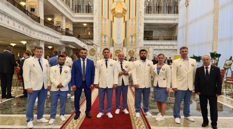 Торжественные проводы белорусскиой делегации на XXXII летние Олимпийские игры