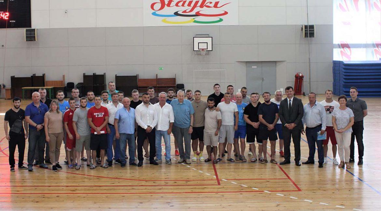 Заместитель Министра спорта и туризма Республики Беларусь посетил РЦОП «Стайки»