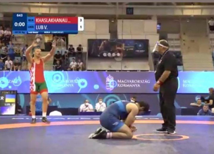 Поздравляем Хаслаханова Абубакара с победом на чемпионате мира по греко-римской борьбе (г. Будапешт, Венгрия)
