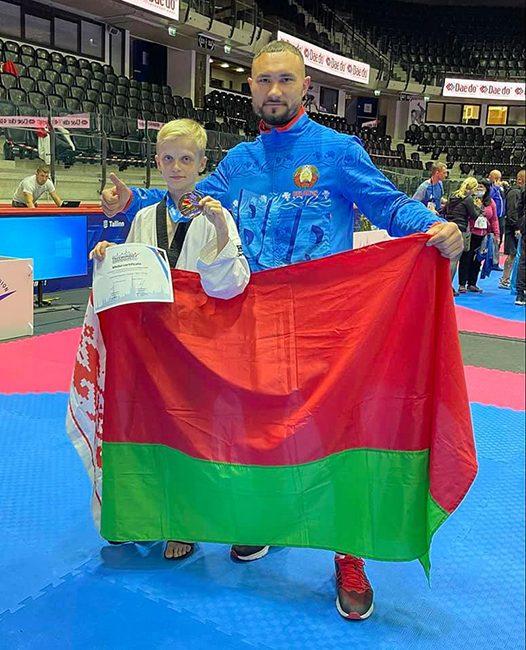 Бохон Максим завоевал бронзовую медаль на чемпионате Европы по таэквондо среди кадетов (г. Таллин, Эстония)