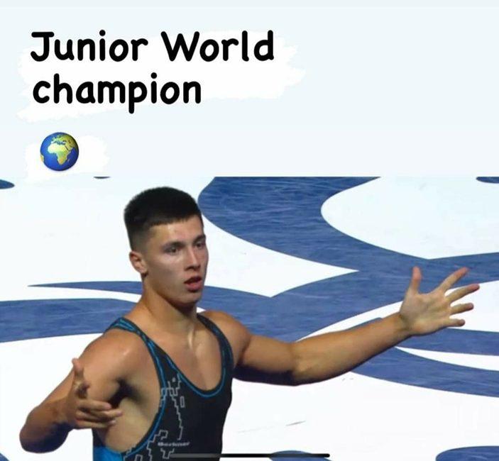 Павел Глинчук стал чемпионом мира среди юниоров по борьбе греко-римской