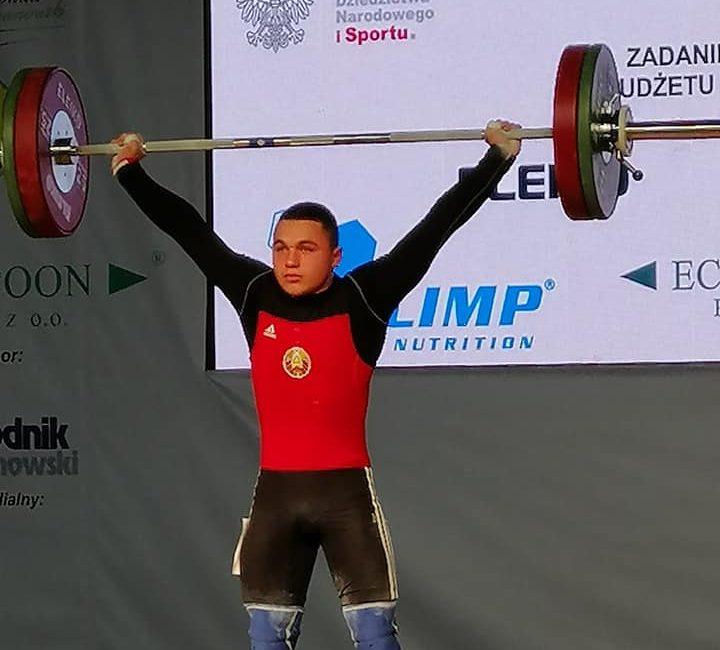 Поздравляем Блоцкого Даниила с завоеванием бронзовой медали на чемпионате Европы по тяжёлой атлетике среди юношей и девушек в г. Цеханув (Республика Польша)