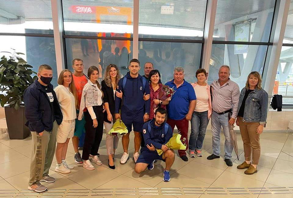 Кирилл Маскевич вернулся в Беларусь с Олимпийских игр — 2020
