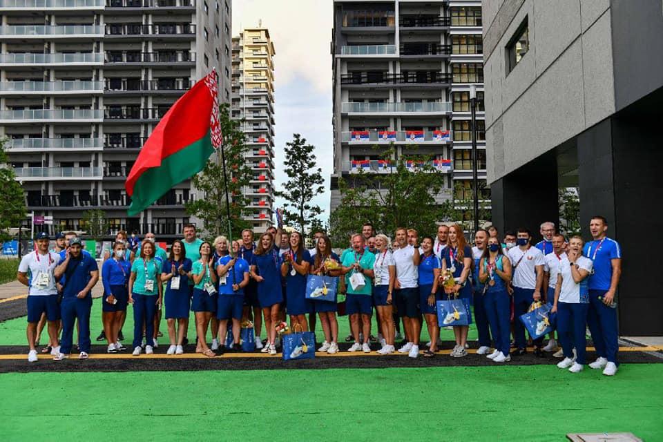 Сборная Беларуси поздравила с заслуженными наградами призёров игр — 2020