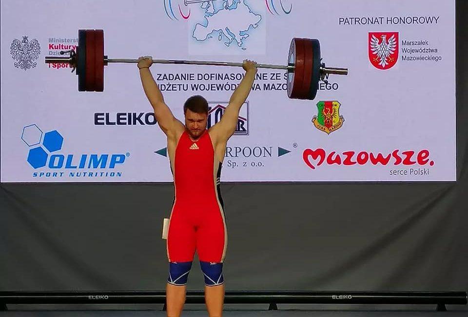 Сакович Владислав стал чемпионом Европы по тяжелой атлетике среди юношей и девушек в г. Цеханув (Республика Польша)