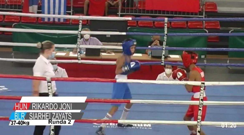 Результаты чемпионата Европы по боксу среди школьников в г. Сараево  (Босния-Герцеговина) на 15 августа