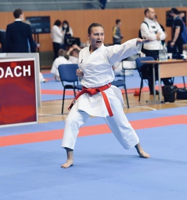 Соболева Стефания стала бронзовым призером чемпионата Европы по каратэ среди кадетов, юниоров и спортсменов до 21 года (г.Тампере, Финляндская Республика)