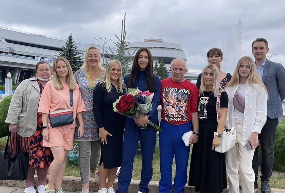 Василиса Марзалюк вернулась в Беларусь с Олимпийских игр — 2020