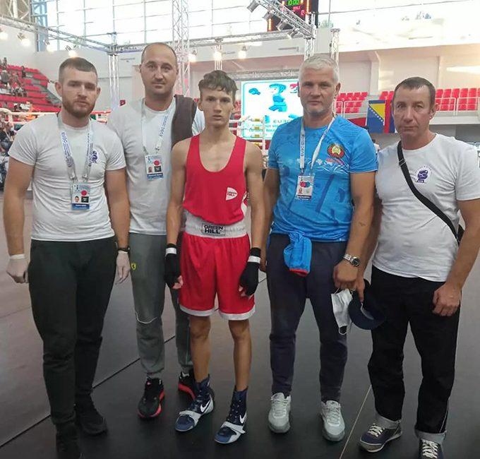 Кипель Андрей и Горбатенко Кирилл сегодня поборются за золото в финале чемпионата Европы по боксу среди школьников в г. Сараево (Босния-Герцеговина)