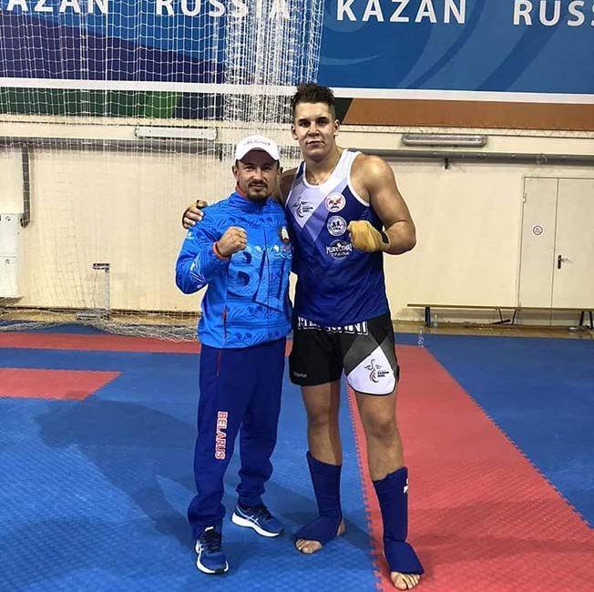 Поздравляем Колтуна Фёдора с завоеванием золотой медали I Игр стран СНГ по тайскому боксу