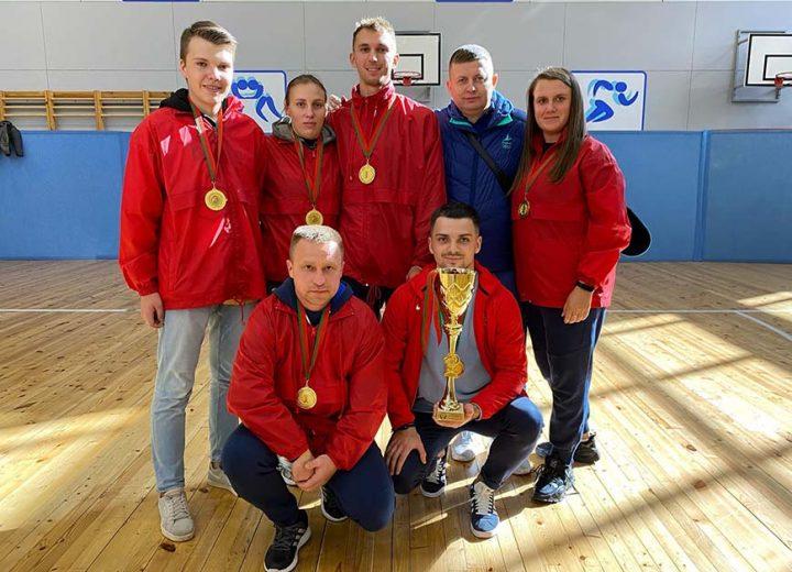 Команда государственного учреждения «Республиканский центр олимпийской подготовки «Стайки » заняла ПЕРВОЕ  место в соревнованиях по волейболу