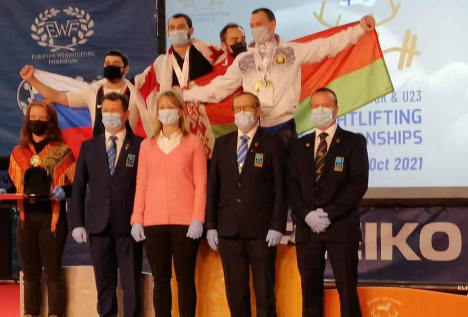 Поздравляем Жерновского Илью с завоеванием золота и бронзы на чемпионате Европы по тяжелой атлетике в г. Рованиеми (Финляндская Республика)