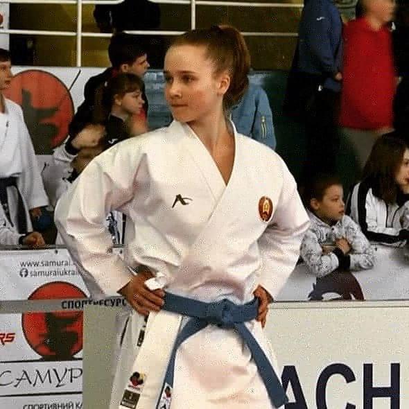 Поздравляем Боровик Веронику с завоеванием бронзовой медали на I Играх стран СНГ по каратэ