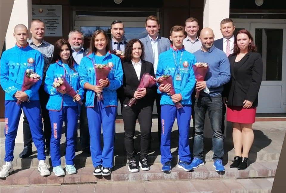 Чествование призеров чемпионата Европы по каратэ среди молодежи, юниоров/юниорок, кадетов (Финляндская Республика)