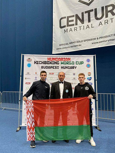 Поздравляем Максима Казака и Виктора Нечитайло с завоеванием ЗОЛОТА на Кубке мира по кикбоксингу в г. Будапешт (Венгрия)
