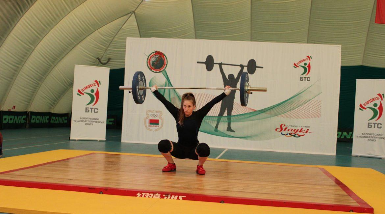 Результаты первенства Республики Беларусь по тяжелой атлетике среди молодежи до 23 лет в г. Минск РЦОП «Стайки»