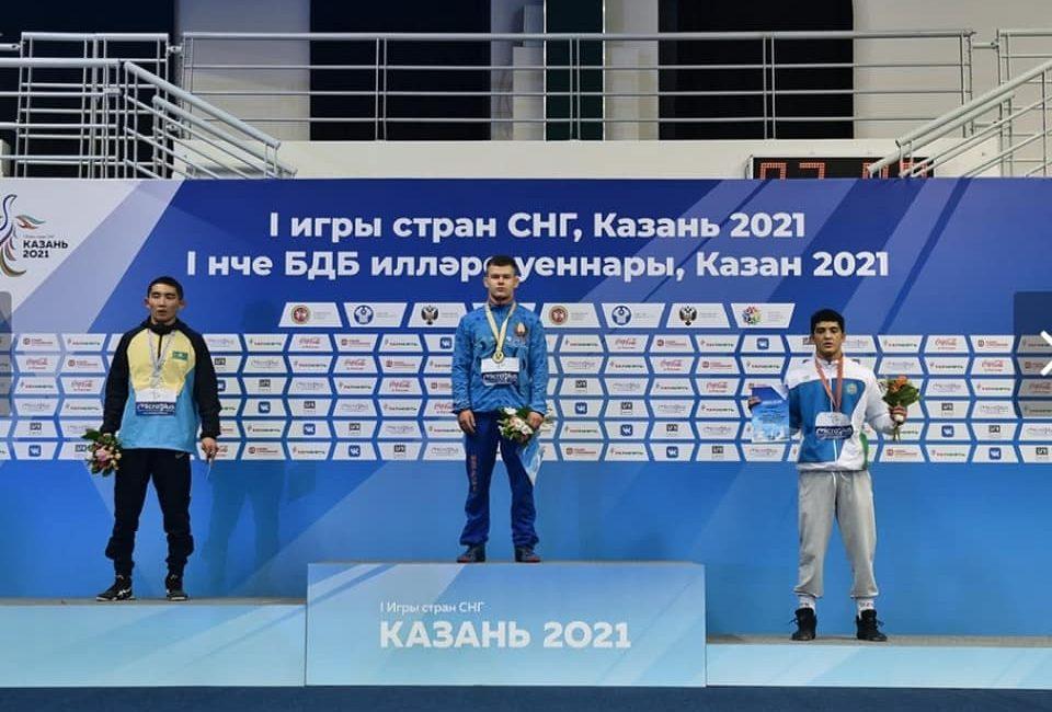 10 медалей I Игр стран СНГ завоевывают борцы в копилку нашей страны