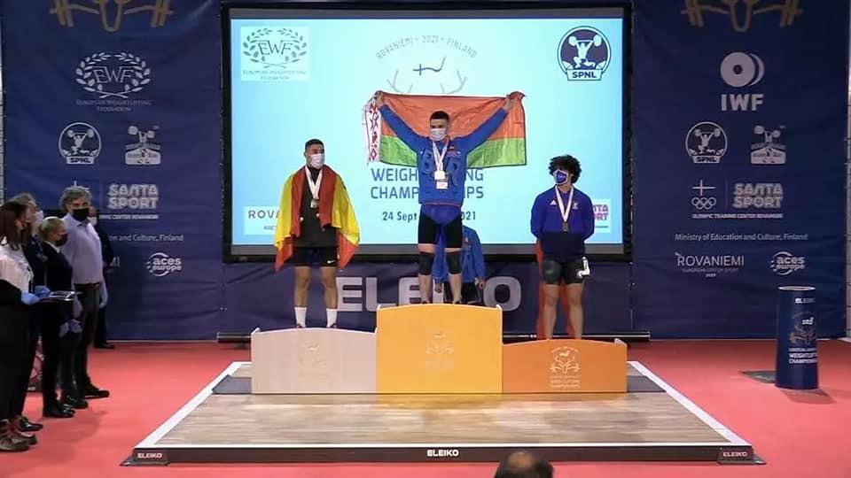 Поздравляем Зайцева Владимира с победой на чемпионате Европы по тяжелой атлетике в г. Рованиеми (Финляндская Республика)
