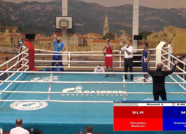 Давыдов Матвей вышел в финал чемпионата Европы по боксу  среди молодежи до 18 лет (г. Будва, Черногория)