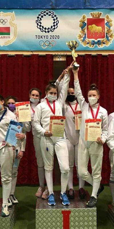 Итоговые результаты командных 💪 соревнований спартакиады детско-юношеских спортивных школ по фехтованию (шпага) в г. Гродно