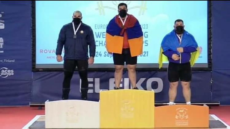 Поздравляем Зезюлина Эдуарда с серебряной медалью чемпионата Европы по тяжёлой атлетике среди молодежи до 23 лет в г. Рованиеми (Финляндская Республика)