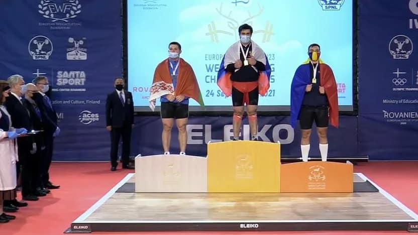 Поздравляем Орленка Андрея с серебряной медалью на чемпионате Европы по тяжелой атлетике в г. Рованиеми (Финляндская Республика)
